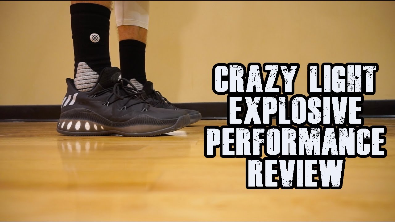 newest ff75c 91f34 Adidas Crazy Explosive Low Performance Review