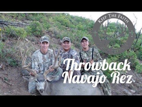 80 Yard Bow Shot Throwback Navajo Nation Deer Hunt