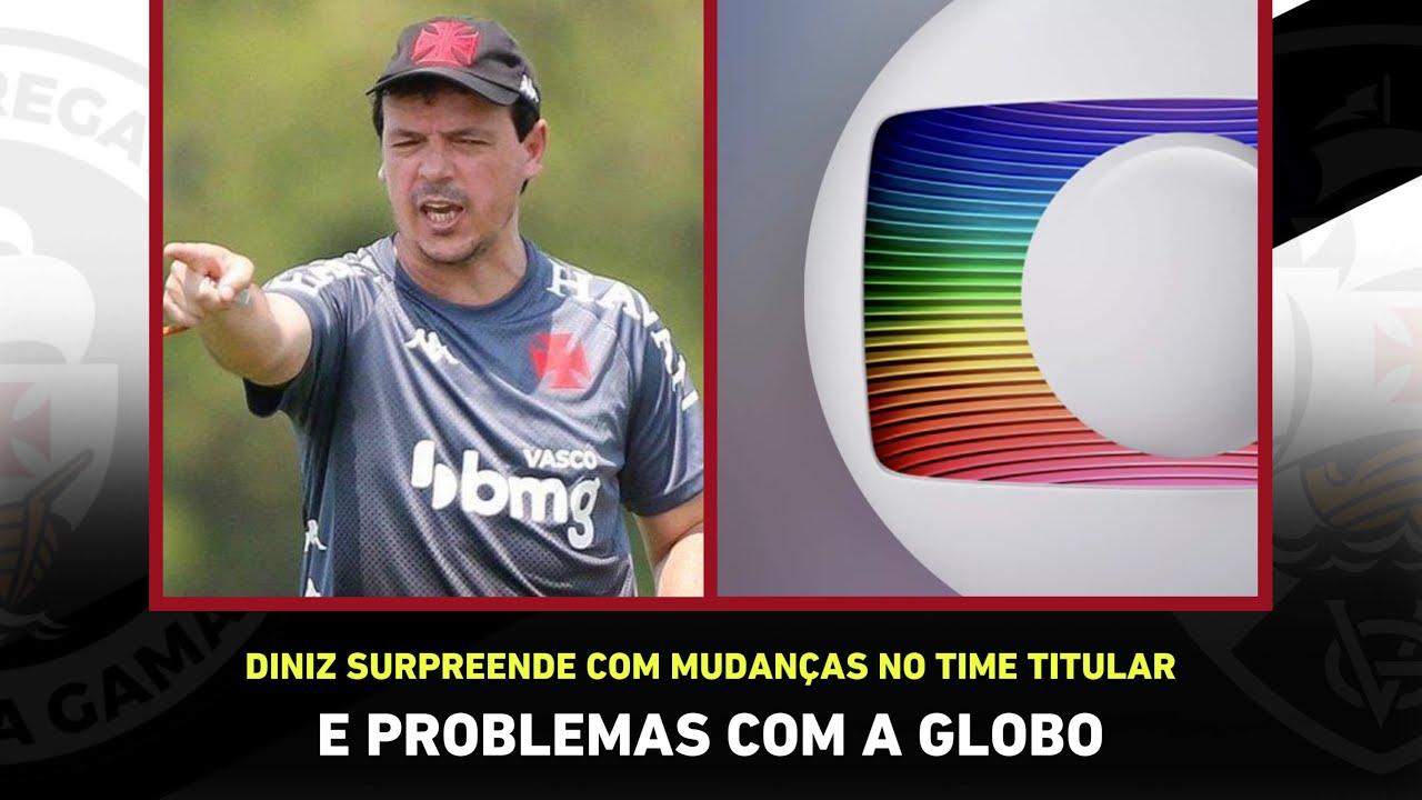 QUENTÍSSIMO! Vasco quer R$ 30 milhões da GLOBO e Fernando Diniz barra JOGADOR! I Noticias do Vasco