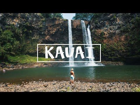 HAWAII: AMAZING 175FT WATERFALL!!
