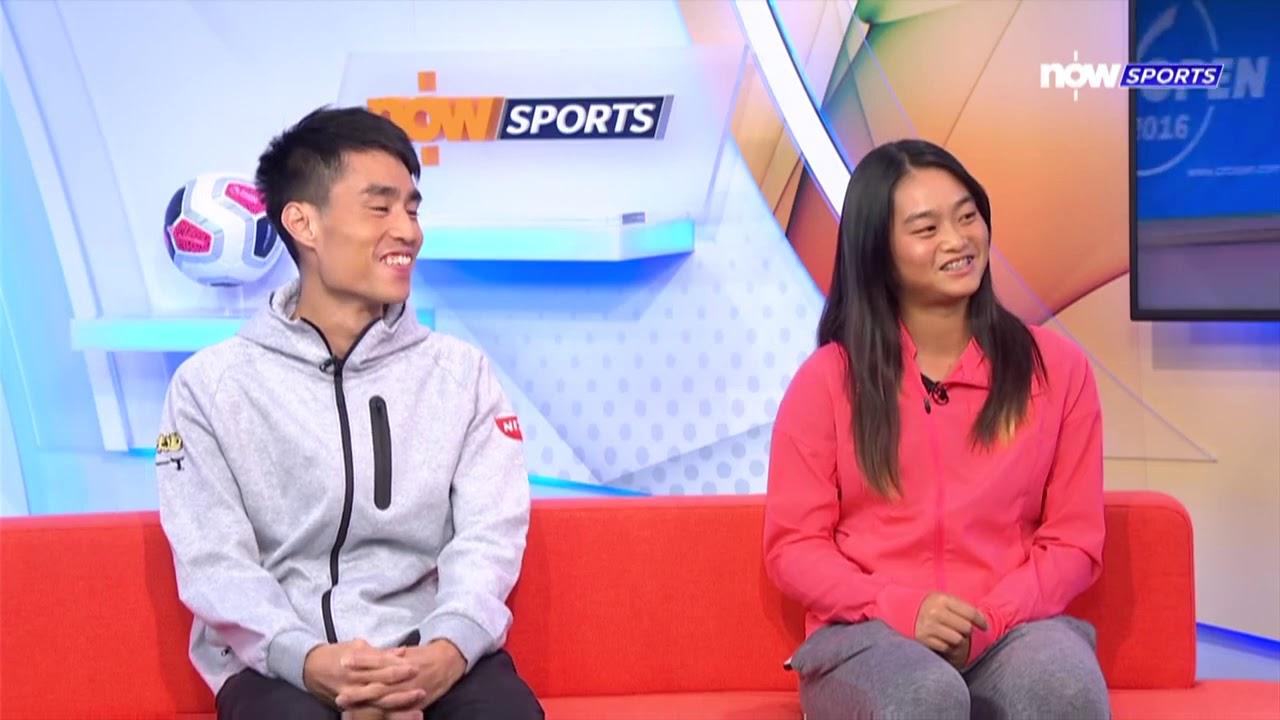 【非常體育】專訪網球王康傑王康怡 - YouTube