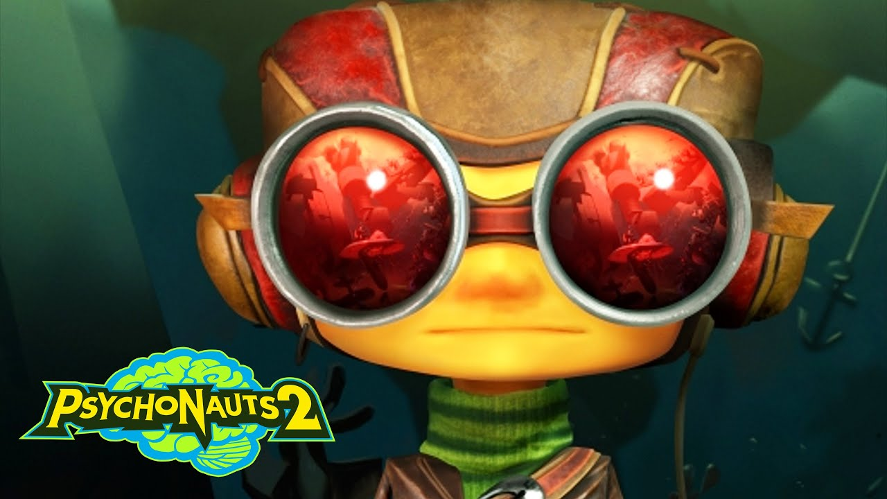 PSYCHONAUTS 2 Walkthrough Gameplay Part 1 - INTRO (XBOX SERIES X)