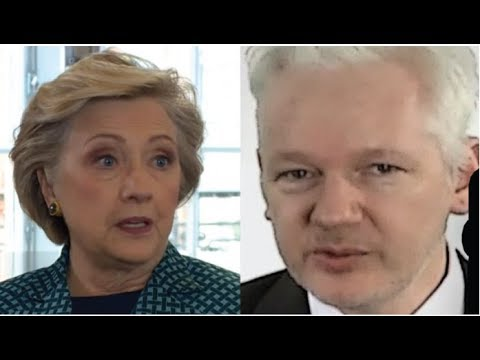 JULIAN ASSANGE JUST UNLEASHED A HELLISH SURPRISE ON HILLARY CLINTON THIS IS HUGE!