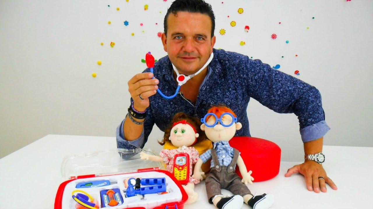 De JugueteVídeo Médico Para Juegos DoctorMaletín Niños 53jcAL4Rq