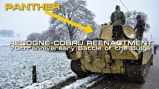 Recogne-Cobru Reenactment 60fps 70th anniversary Battle of the Bulge