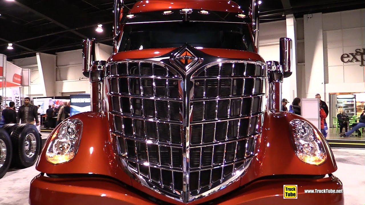 2018 International Lonestar Truck - Exterior and Interior Walkaround - 2018 Truckworld Toronto