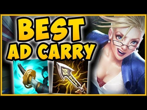 BECOME THE 1v9 CARRY ADC JANNA TOP IS 100% DEADLY CRIT JANNA TOP GAMEPLAY - League of Legends