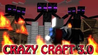 "Minecraft | Crazy Craft 3.0 - Ep 3! ""TITANS ATTACK"""