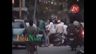 MIM TDP party workers clash at Nampally | Feroz Khan TDP vs Jaffer Hussain Mairaj AIMIM