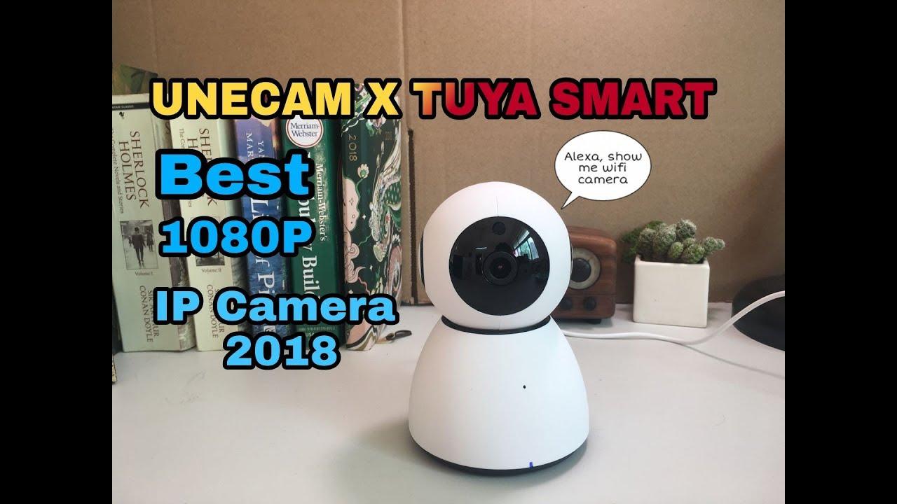 2018 Unecam Best selling AI TUYA smart camera support Amazon alexa Google  assistant
