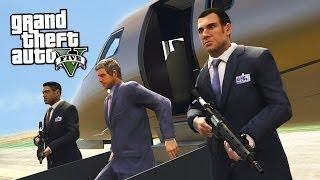 GTA 5 Làm Vệ Sỉ Cho Nhà Đại Gia Đi Cứu Ông Trùm Bị Mafia bắt cóc