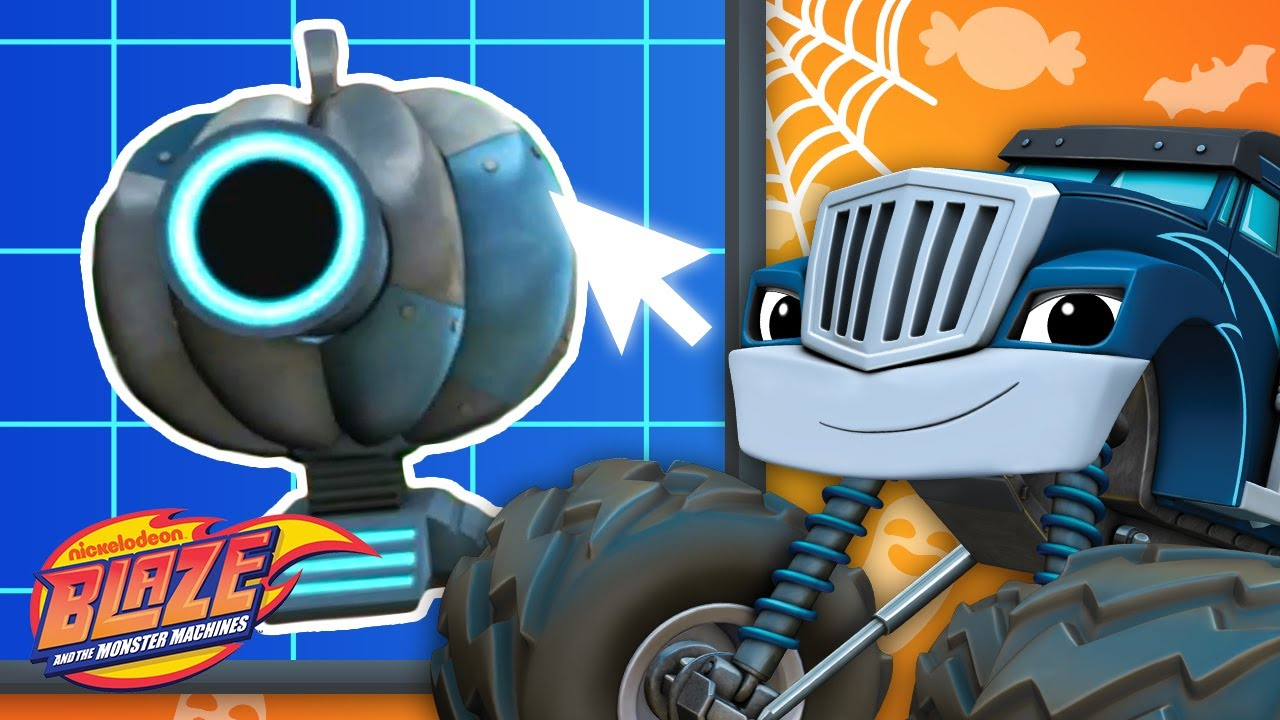 Download Crusher Builds Halloween Robots #7 | Games For Kids | Blaze and the Monster Machines