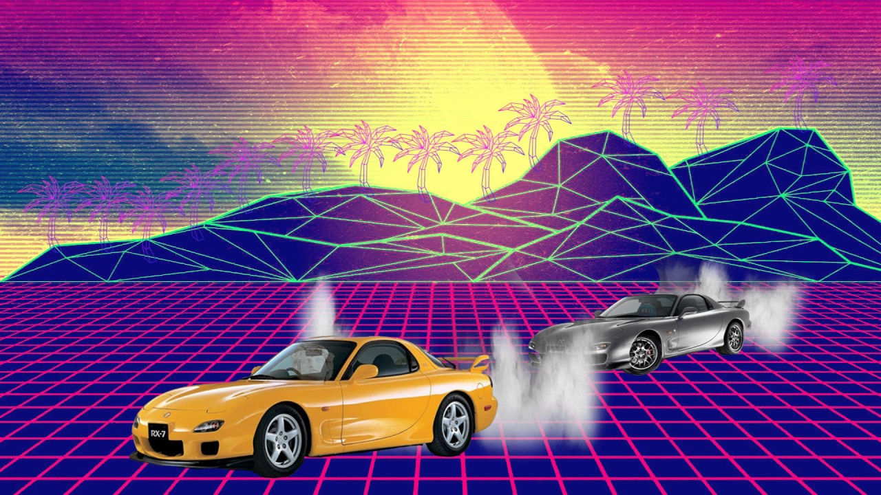 Hotline Miami Car Wallpaper Forever Young Vaporwave Mix Initial D Youtube