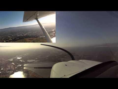 Palo Alto Pattern (KPAO) in a Cessna Skycatcher 162- 2014-06-05