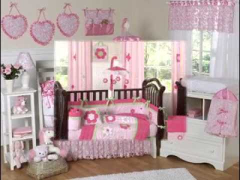 DIY Baby girl nursery decorating ideas - YouTube