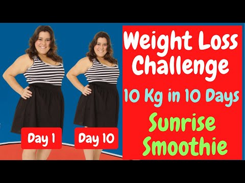 How to Lose Weight Without Exercise Fast | Weight Loss Smoothie to Lose 10 KG in 10 Days