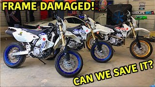 Rebuilding A Wrecked 2019 DRZ 400 Supermoto Part 2