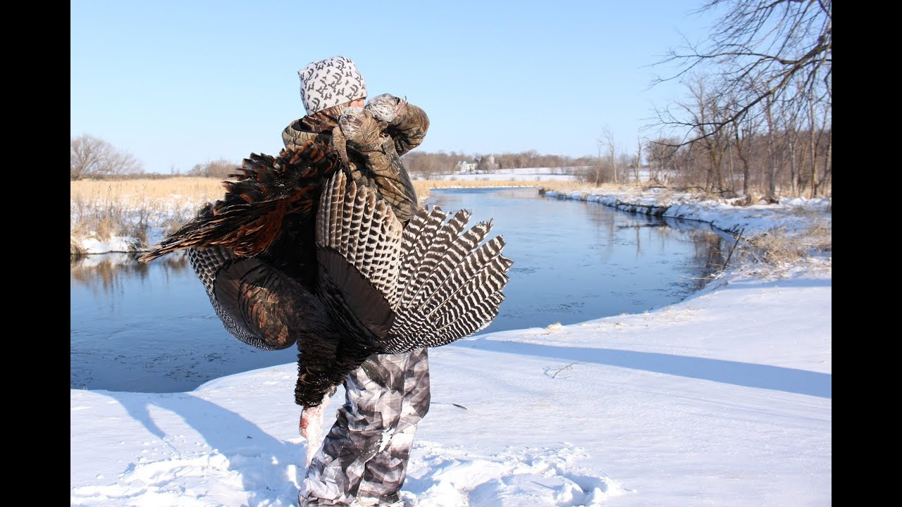 Spring Snow and Turkeys -Brandon Shoots His First Gobbler ...