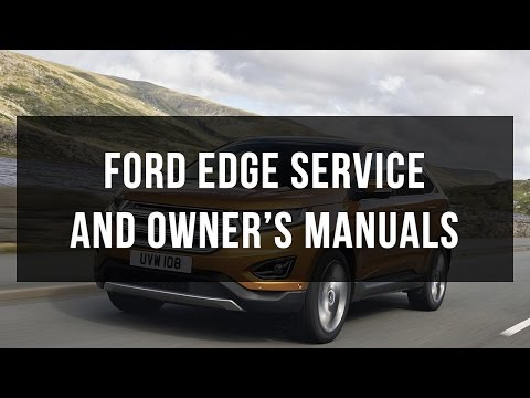 Download Ford Edge service and owner's manual free