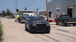 Supercharged SRT8 Jeep Take Off