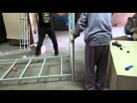 3 tier metal bunk bed installation