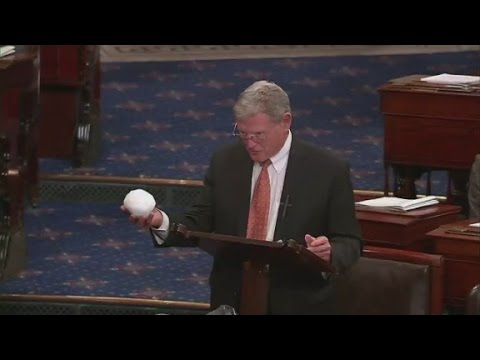 You won't believe what senator threw on Senate floor
