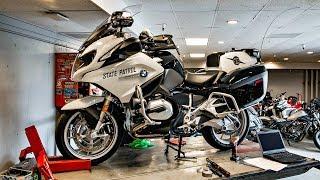 BMW R1200RT Police!! • Epically Fun RT-LTD Ride! | TheSmoaks Vlog_921