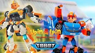 Upin & Ipin Berubah Menjadi Tobot X dan Tobot W