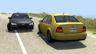Instant Karma & Car Near Misses (Close Calls) 4 - BeamNG Drive