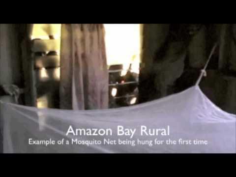 Papua New Guinea, Abau District: Bednet distribution