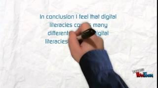 Digital Literacy Definition