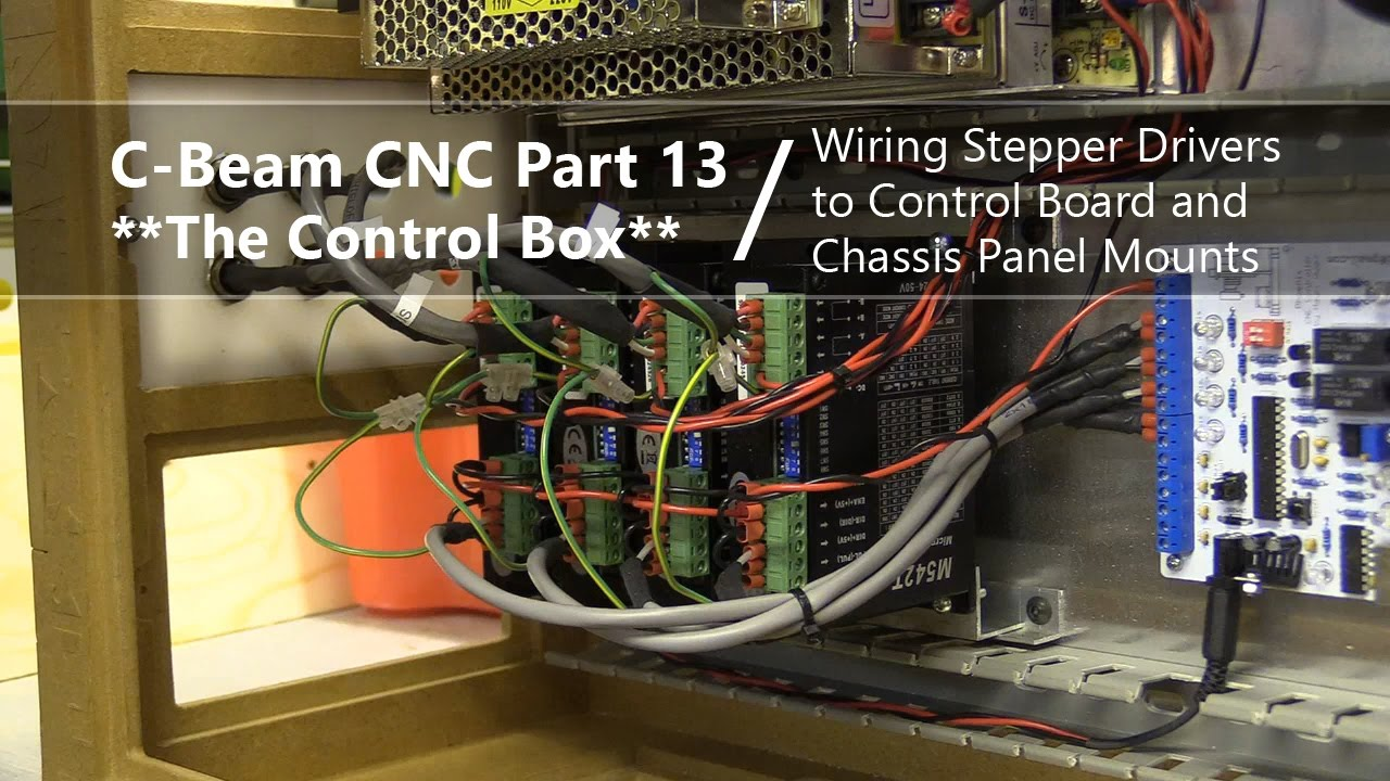 13 Wiring Stepper Drivers To Controller Amp Panel Mounts