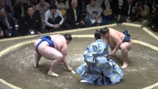 20140511 鶴竜vs碧山 大相撲夏場所初日 鶴竜横綱初日.