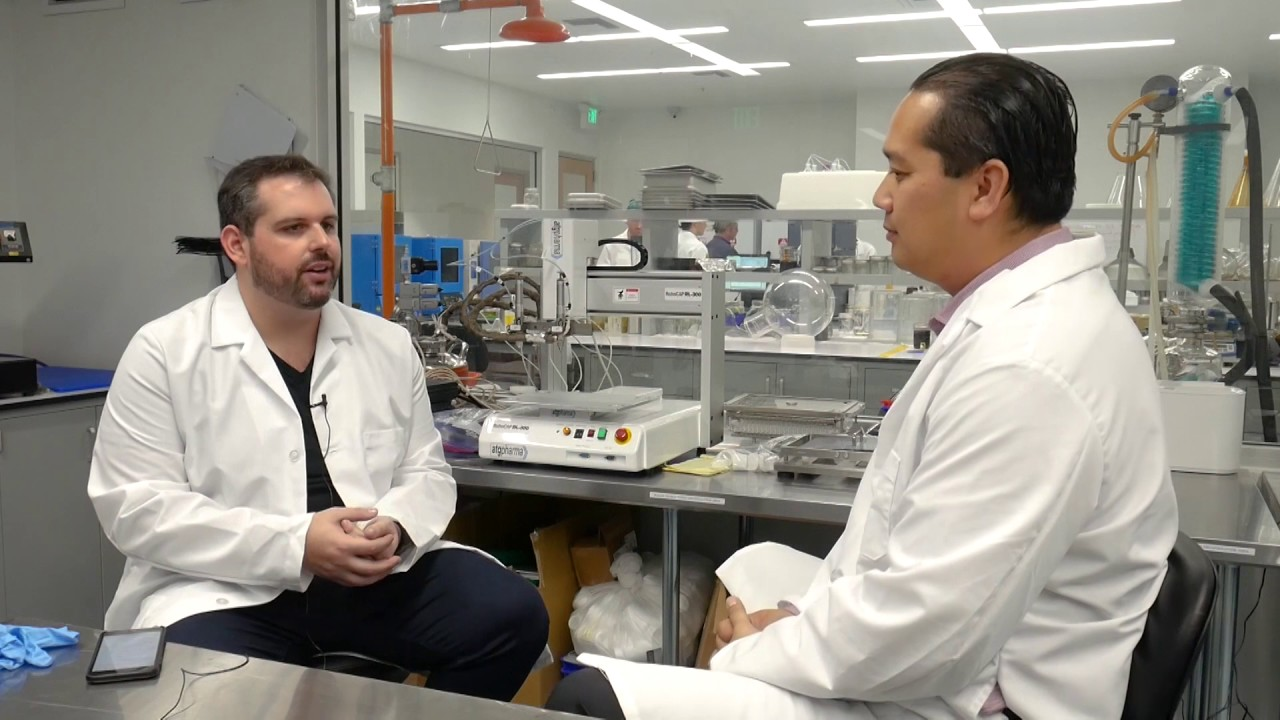 Investing In Cannabis: Take A Tour Inside BAS Research - California  Extraction Lab