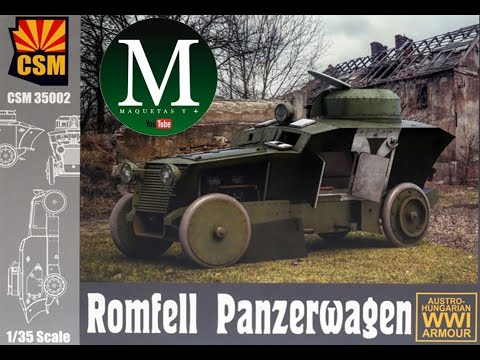 Download Romfell Panzerwagen (CSM 1:35)