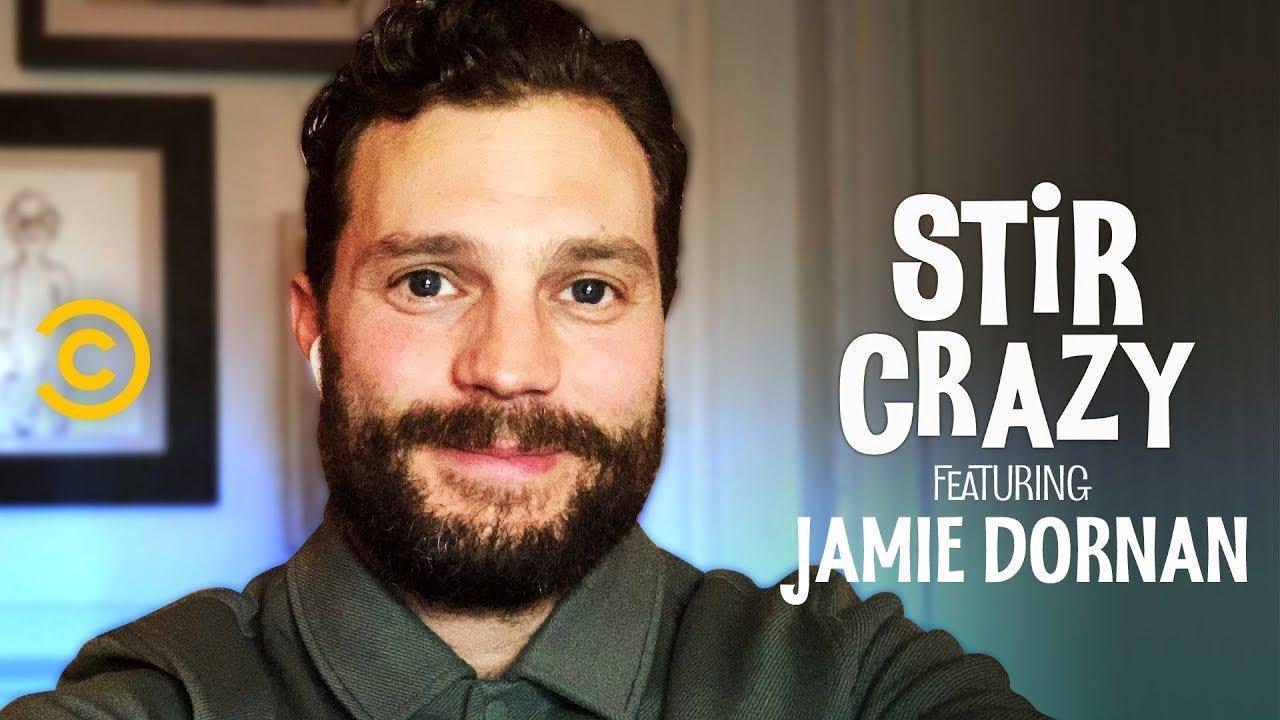 "Download Jamie Dornan Hears Dakota Johnson's Wild ""Would You Rather"" Question - Stir Crazy with Josh Horowitz"
