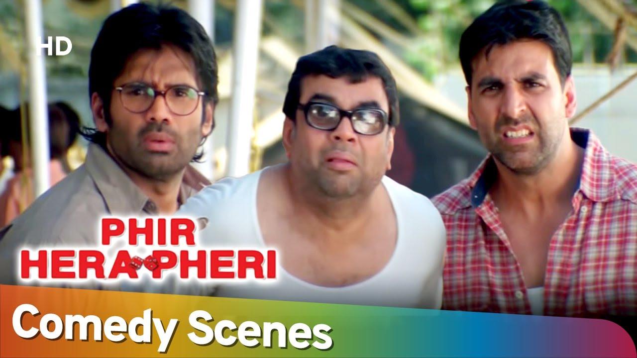 Best of Comedy Scenes | Superhit Movie Phir Hera Pheri | Paresh Rawal - Akshay Kumar - Rajpal Yadav