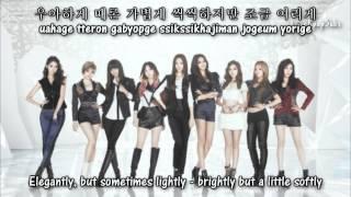 Girls' Generation (SNSD) - My J [Eng+Rom+Han]