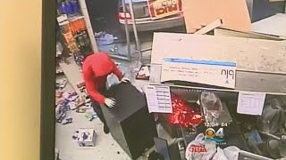 Burglars Smash Way Into Family Dollar Store
