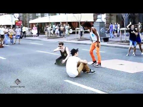 Уличные танцы, Киев, Крещатик новое часть 1 - Street Dance, Kiev, Khreshchatyk new part 1