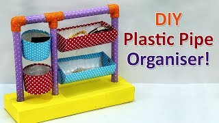 Beautiful DIY Multipurpose Organizer | Easy Best Out of Waste Craft from Plastic Bottles