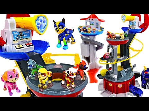 Weve taken the base! Paw Patrol Mighty Pups Mighty Lookout Tower appeared!   DuDuPopTOY