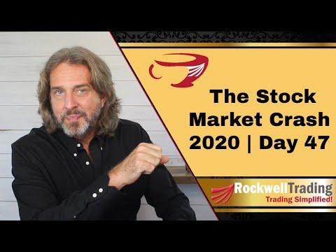🔴 The Stock Market Crash 2020 – Day 47 | My 4 Step Approach For Developing A Trading Strategy Pt. 1