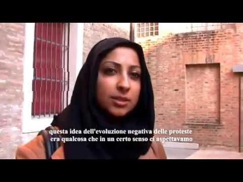Internazionale a Ferrara 2012 - Maryam Al Khawaja e Sultan Al Qassemi
