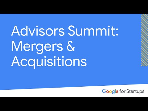Campus Experts Summit: Mergers & Acquisitions at Google