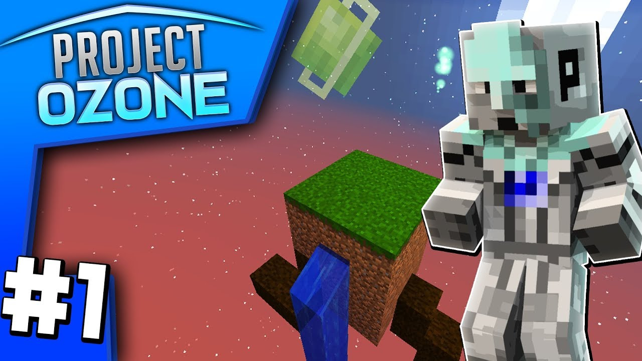 ADVENTURE AWAITS! (Project Ozone 3 Skyblock Lets Play #1)