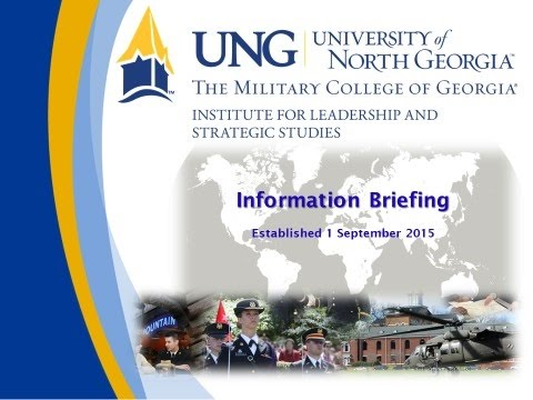 UNG Institute for Leadership & Strategic Studies