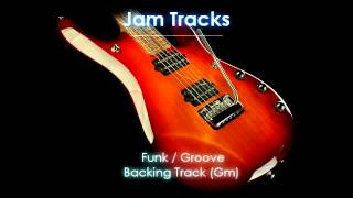 Dorian Funk/Groove Backing Track (Gm) - TheGuitarLab.net -