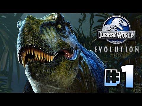 Building Jurassic World!! - Jurassic World Evolution | Ep1