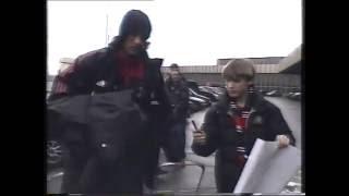 «Милан» в аэропорту Шереметьево 26.02.2003 год.(25.02.2003 Московский